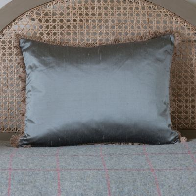 Silk Cushion - Storm