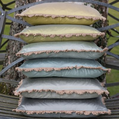 Catkin Silk Cushion