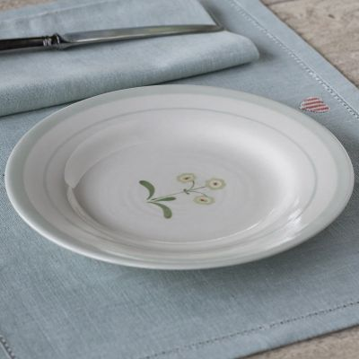 Green Auricula Side Plate
