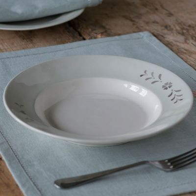 Gustavian Charcoal Entree Dish – Seconds