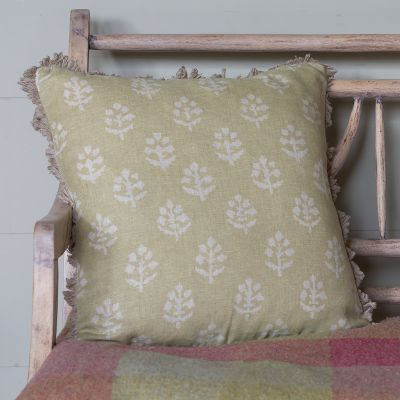 Catkin Megha Linen Cushion