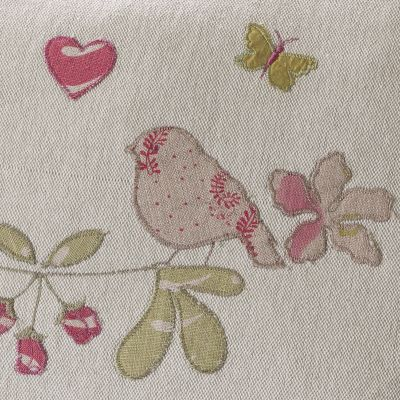 Linen Lovebirds Quilt