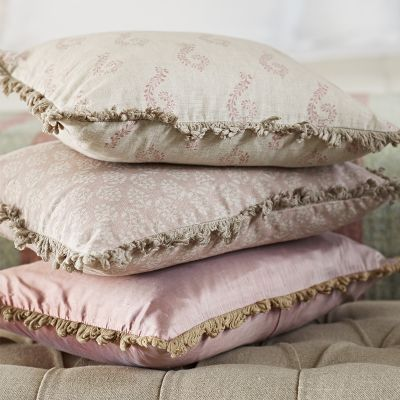 Rose Shalini Linen Cushion