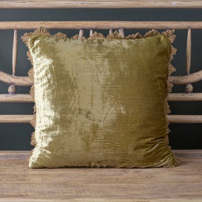 Lovat Velvet Cushion