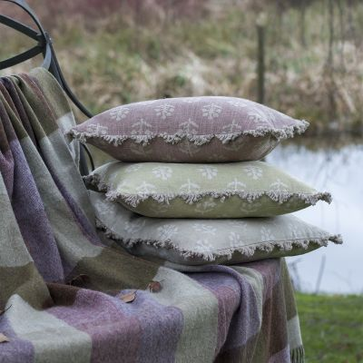Grey Megha Linen Cushion