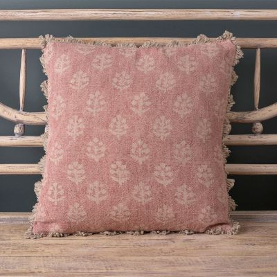 Faded Rose Megha Linen Cushion