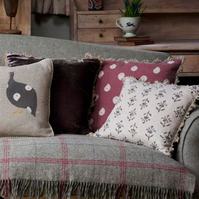 Sail Red Mika Cushion - Seconds