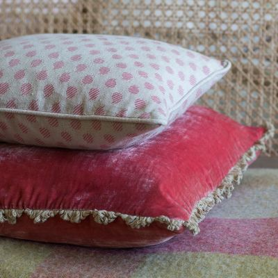 Rose Nina Linen Cushion