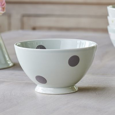 Charcoal Spot french bowl