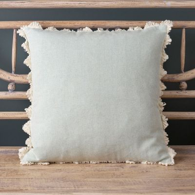 Duck Egg Blue cotton Cushion