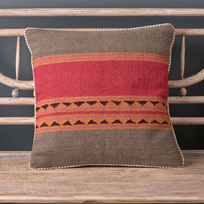 Jaipur Stripe Kilim Cushion 50 x 50cm