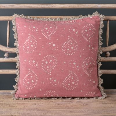 Reverse Indian Lullaby Cushion - Rose (Cushions)