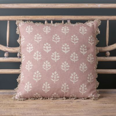 Violet Megha Linen Cushion