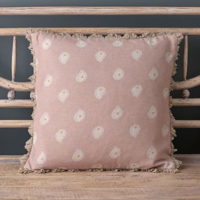Dusky Pink Mika Cushion