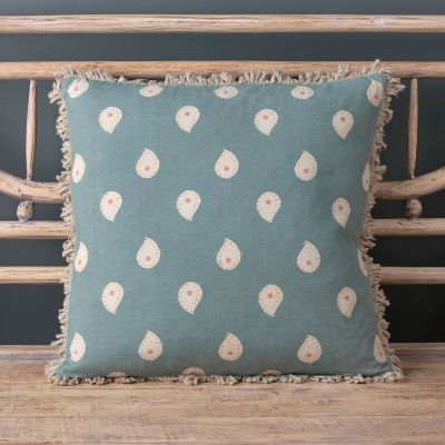 Marine Blue Mika Cushion