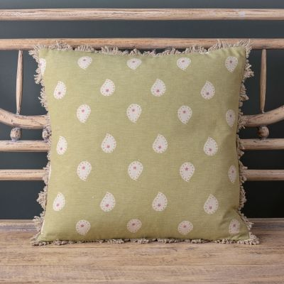 Summer Green Mika Cushion