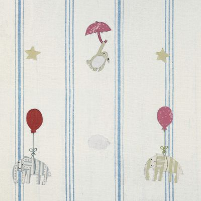 Marine Blue Floating Embroidered Panel – 134