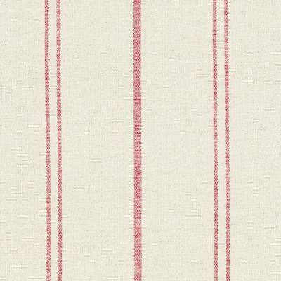 Ivory Red Vintage Stripe Cotton – Double Width – 209