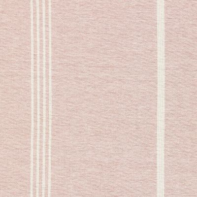 Pale Rose Ivory Oxford Stripe Cotton – Double Width – 218
