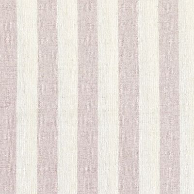 Curtains in Pale Rose Ivory Wide Stripe 160cm x 192.5cm