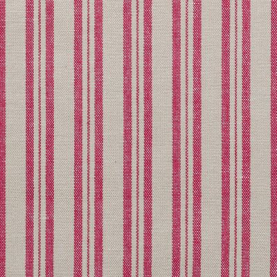 Berry Red Medium Ticking Stripe - 237