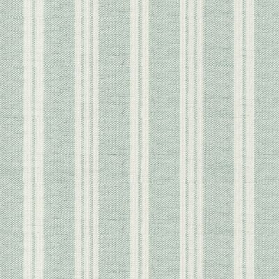 Duck Egg Ivory Cambridge Stripe – Double Width – 253