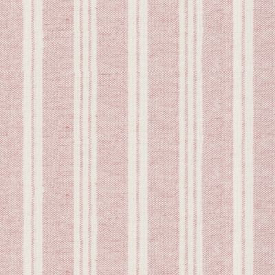 Roman Blind in Pale Rose Cambridge Stripe  53cm x 130cm