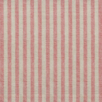 Red Natural Stripe Cotton – Double Width – 269