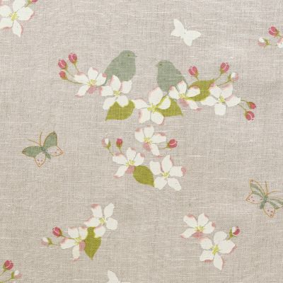Ivory Apple Blossom Linen – 313