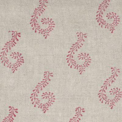 Red Shalini Linen Seconds - Z/323