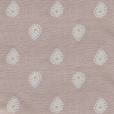 Curtains in Dusky Pink Mika 335cm x 115.5 cm