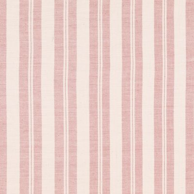 Pale Rose Large Ticking Stripe Cotton – Double Width – A18