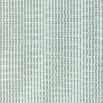 Roman Blind in Duck Egg Ivory Stripe 160cm x 73cm