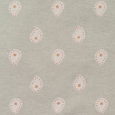 Grey Mika Oilcloth Seconds - Z364