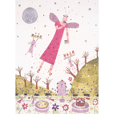 Fairy Tea Party Print