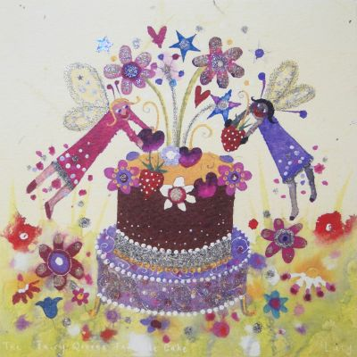 Card - The Fairy Queen's Favourite Cake