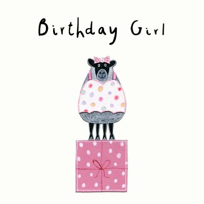 Birthday Girl - Card