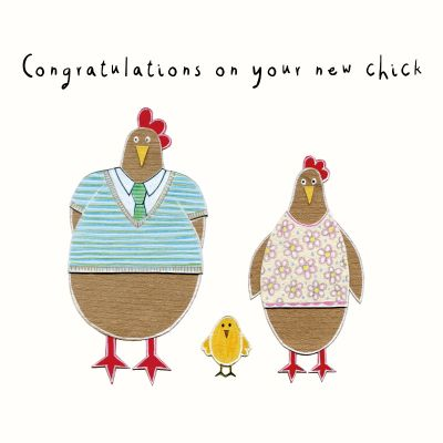 Congratulations on Your New Chick Card