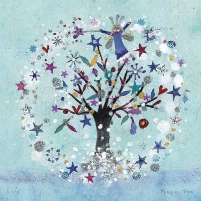 Christmas Card - Magic Tree (Small, pack of 6)