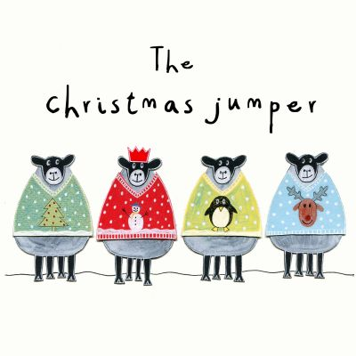 Card - The Christmas Jumper (Pack of 6)