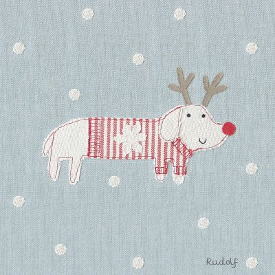 Christmas Card - Rudolf (Small, pack of 6)