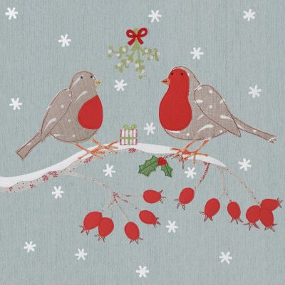 Robin Christmas Card (Small, pack of 6)