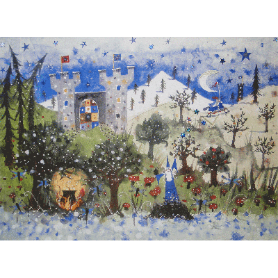 The Enchanted Castle Print