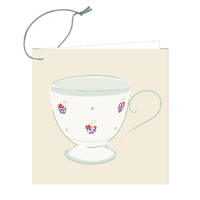 Gift Tag - Blackberry Mug