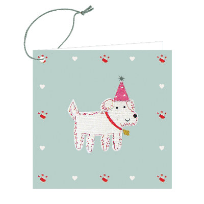 Gift Tag - Monty