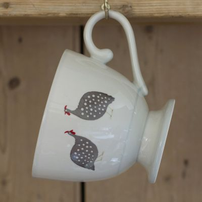 Guinea Fowl Large Mug (Ceramics)