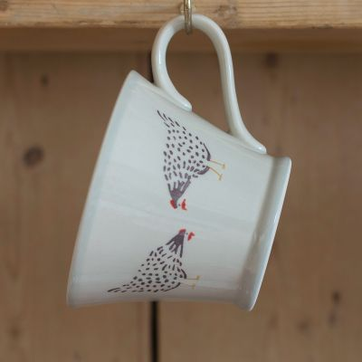 Black Hen Conical Mug