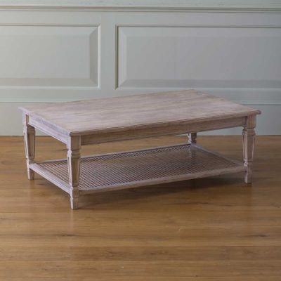 Caned Coffee Table - Seconds