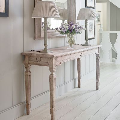 Seconds Carved Console Table – Small