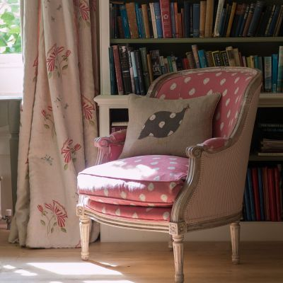Rose Mika Library Chair - Seconds